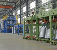 Wire galvanizing line
